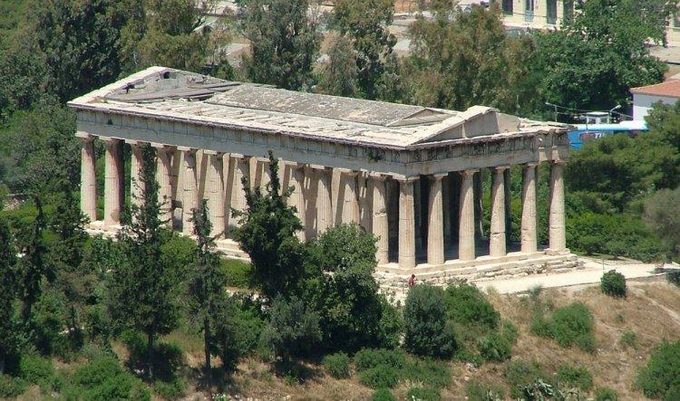 أغورا القديمة في اثينا
