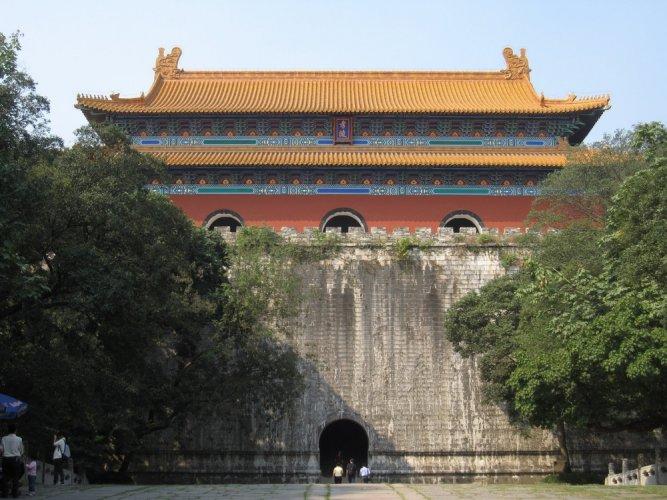 قبر الإمبراطور تشو يوان تشانغ