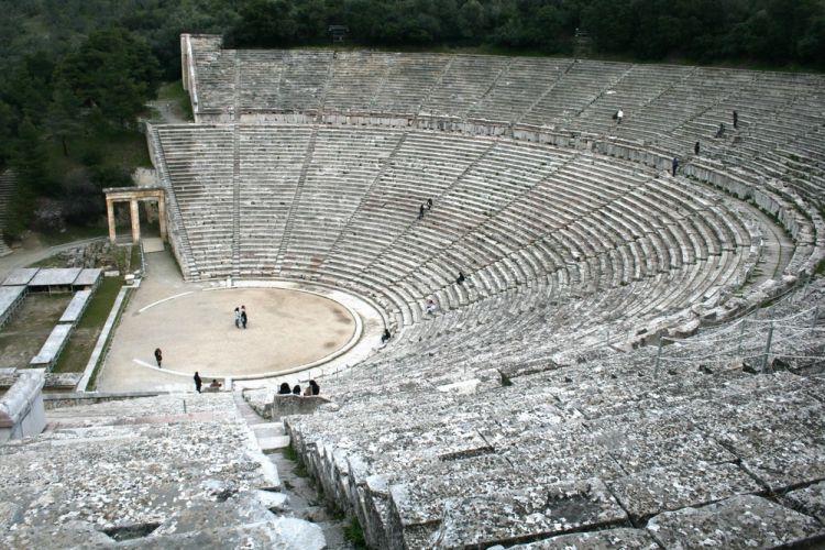 مسرح ابيداوروس