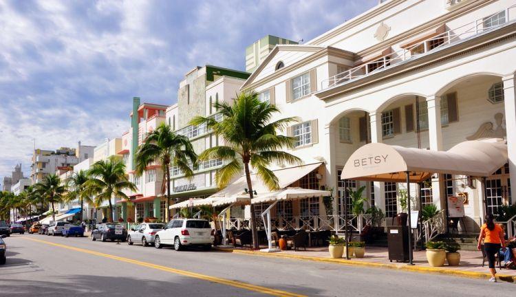 شوارع مدينة ميامي