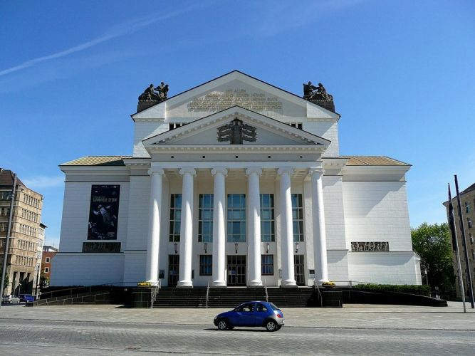 قصر المدينة الحديث في دويسبورغ