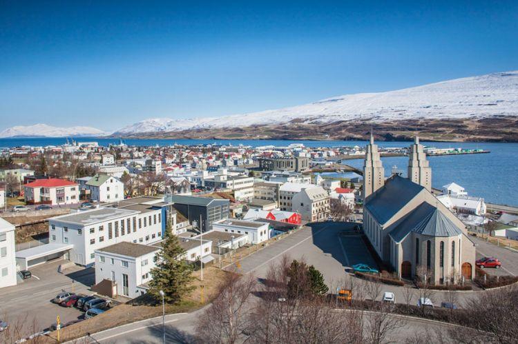 أكوريري في أيسلندا