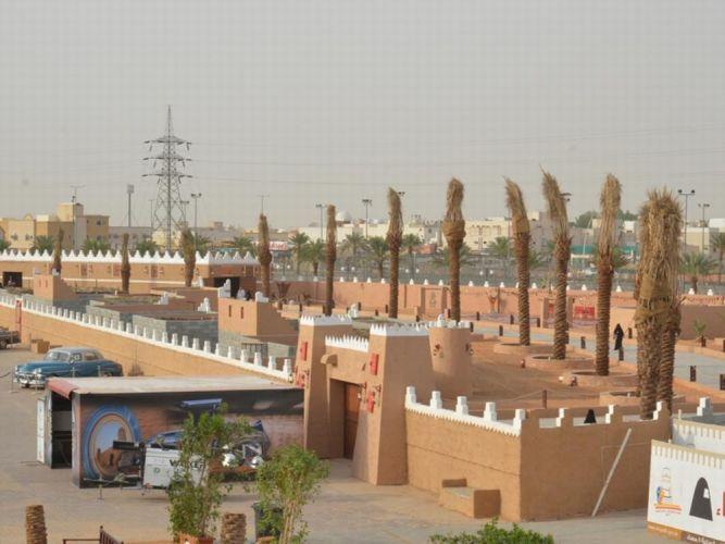 قرية التراثية بوسط المجمعة التاريخي