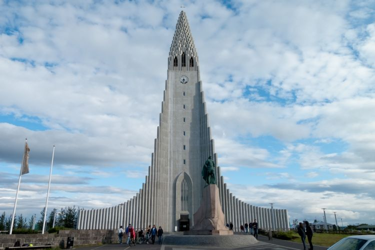 Church Of Hallgrímur في أيسلندا