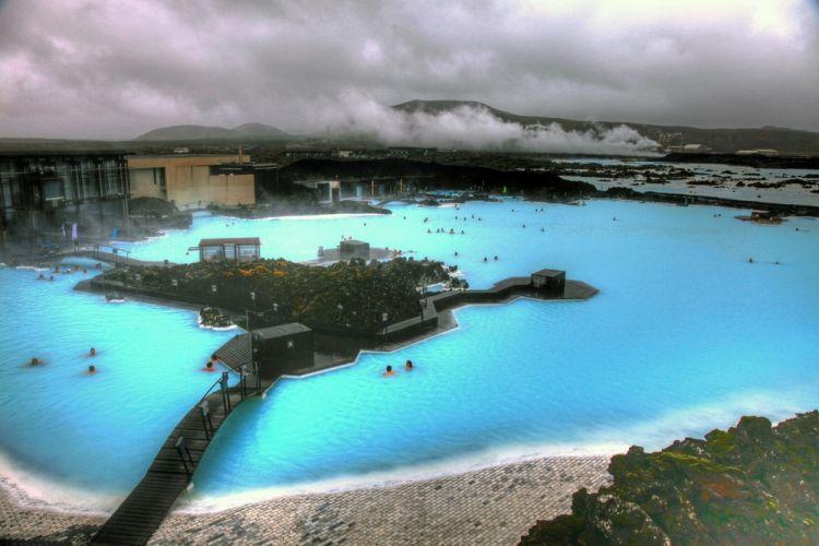 Blue Lagoon في أيسلندا