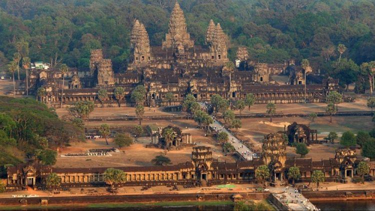 أنغكور وات في منطقة أنغكور فيسيام ريب كمبوديا