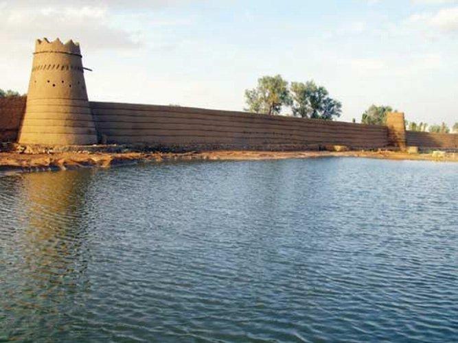 السور القديم في مدينة شقراء