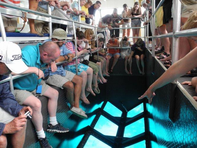 القارب الزجاجي