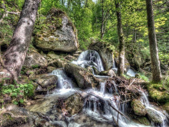 شلالات ميرا في النمسا
