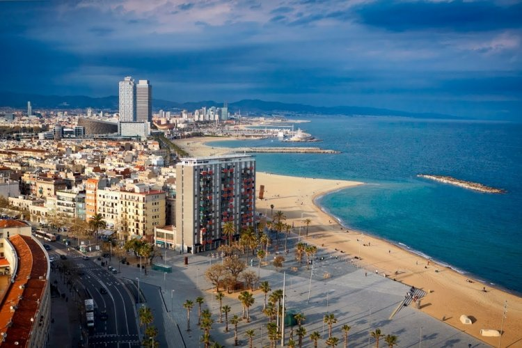 مدينة برشلونة الإسبانية