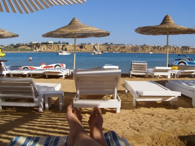 شاطئ تيرازينا شرم الشيخ