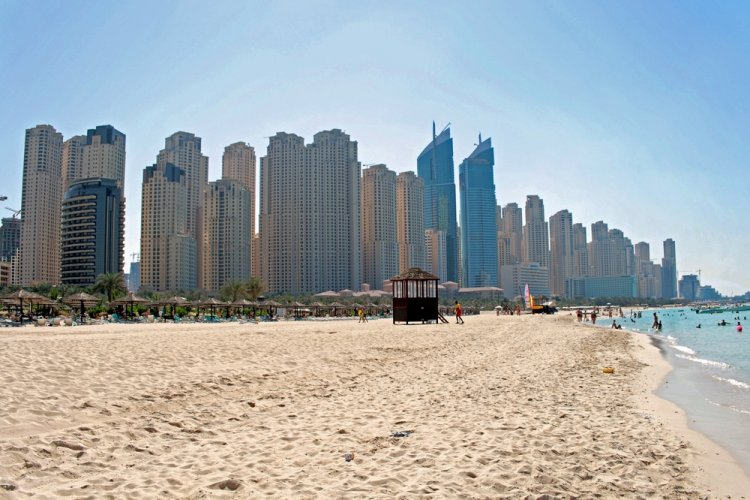 شاطئ جميرا دبي