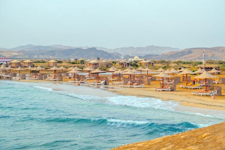 شاطئ شرم الدولي في مصر