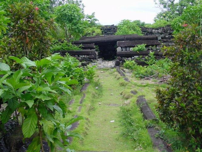 نان مادول في جزيرة ميكرونيزيا