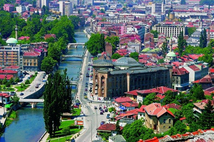 مدينة سراييفو في البوسنة والهرسك