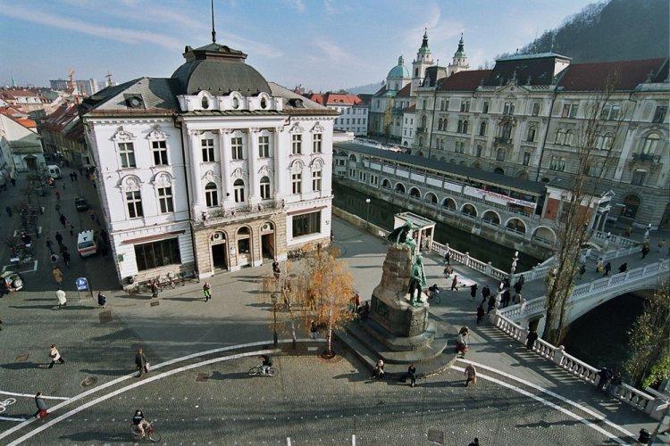 مدينة ليوبليانا في سلوفينيا
