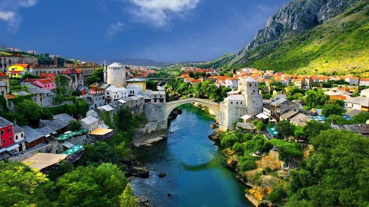 مدينة موستار في البوسنة والهرسك