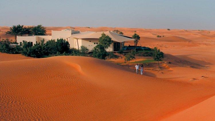 منتجع المها الصحراوي دبي