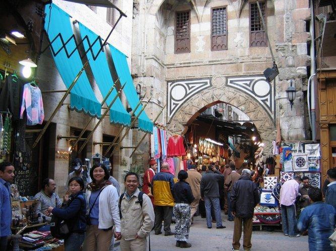 محلات خان الخليلي في القاهرة