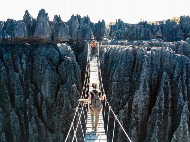 المحمية الطبيعية Tsingy de Bemaraha: