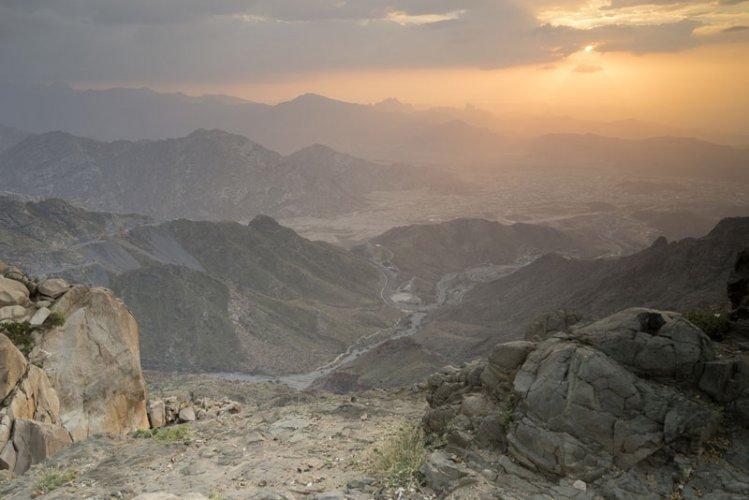 الأماكن السياحية في مدينة الطائف