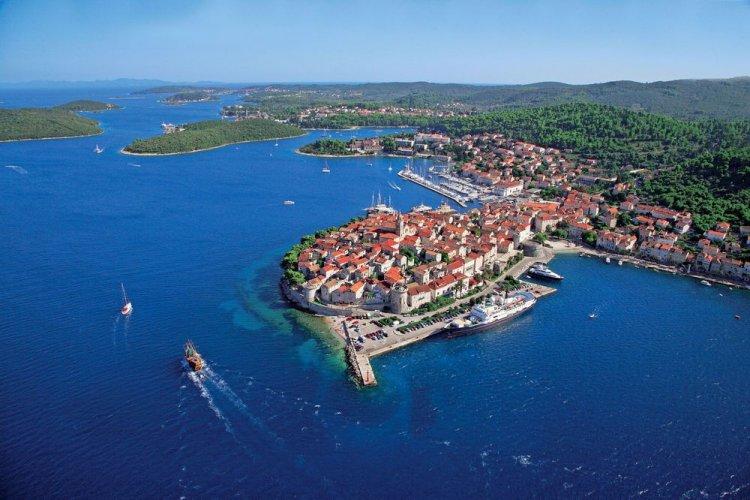 كورتشولا جزر كرواتيا