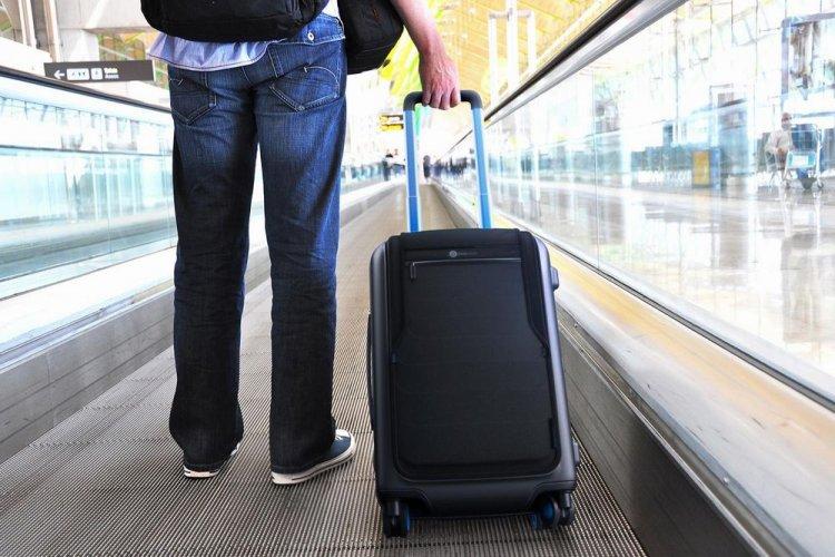 الحقائب أثناء السفر