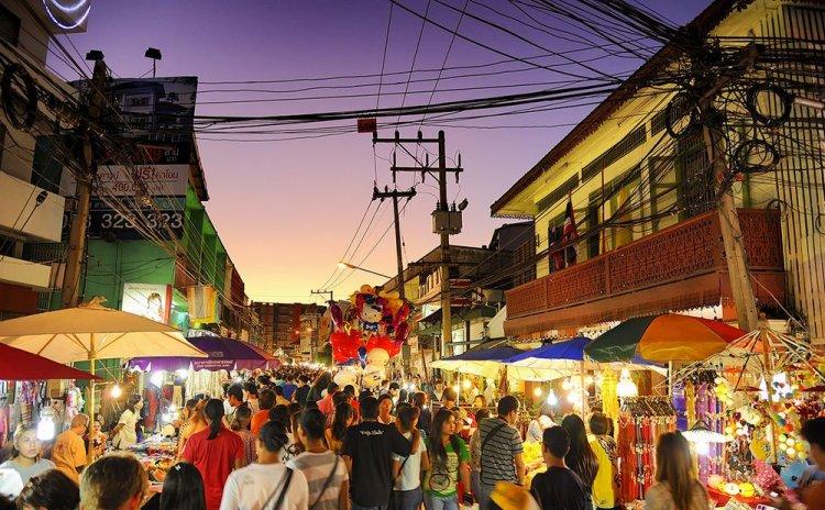 شوارع شيانج ماي