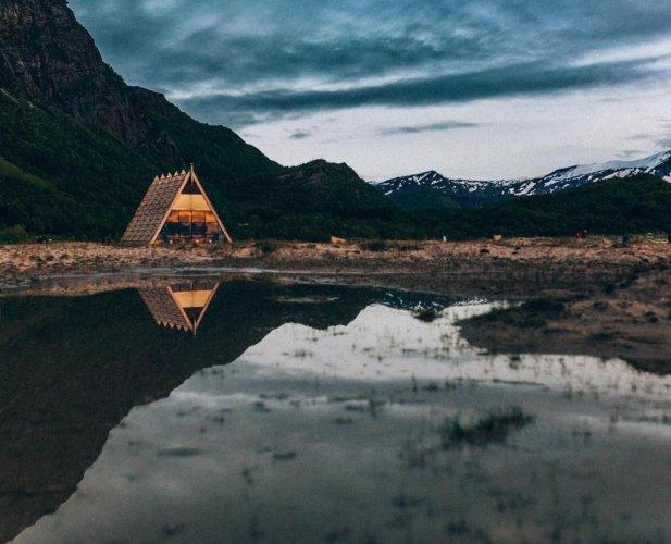 أغورا، أكبر ساونا في العالم بالنرويج