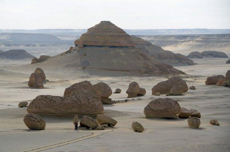 منطقة جبل الريان في محافظة الفيوم