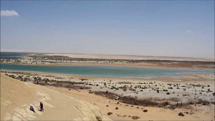 منطقة عيون الريان في محافظة الفيوم