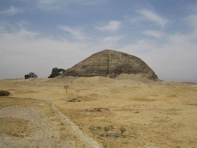 هرم هوارة في محافظة الفيوم