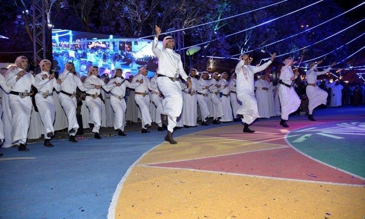 احتفالات الجيش السعودي
