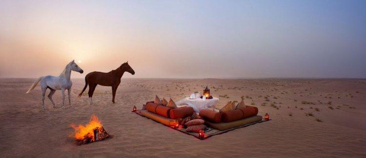 صحراء دبي الساحرة