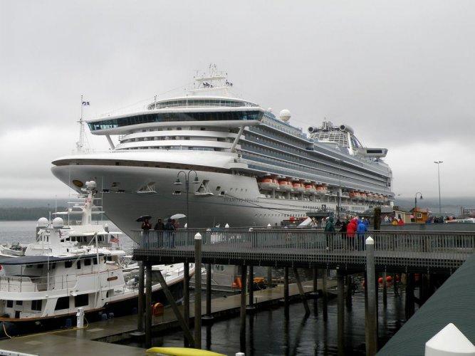 السفينة سفينة برنسيس دايموند