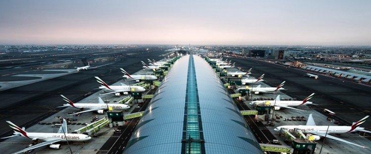 مطار دبي يحتل المركز الاول في عدد الرحلات الدولية الطويلة