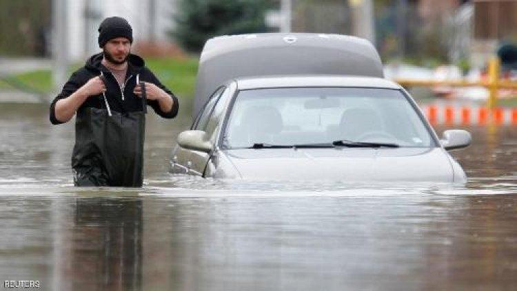 إلغاء 200 رحلة جوية في كندا بسبب الأمطار