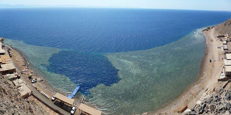 أفضل منطقة غطس في البحر الأحمر