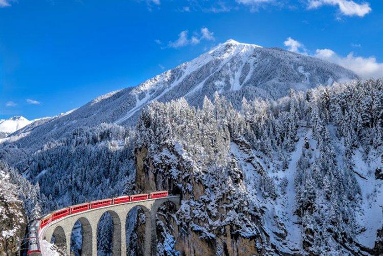 قطار سويسرا