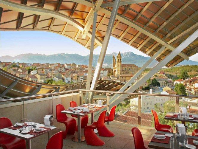 فندق ماركيز دى ريسكال فى اسبانيا