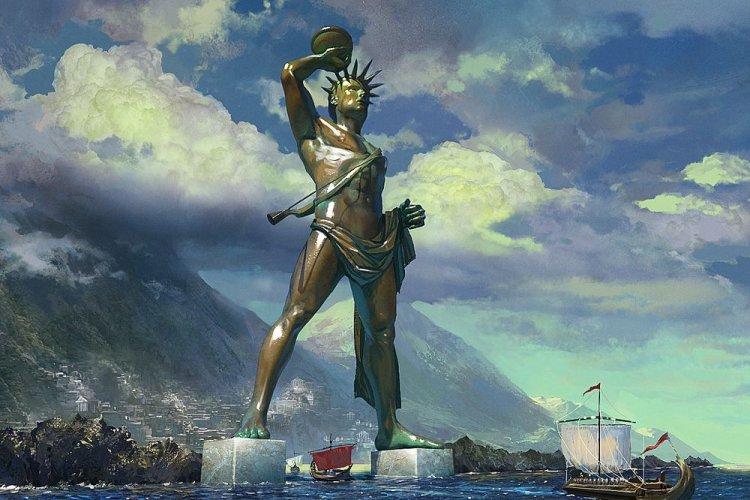 تمثالأبولو رودس