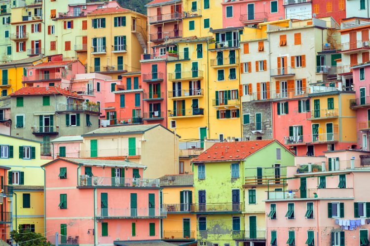 قرية مانارولا في ايطاليا