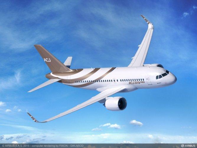 إيرباص تستبدل سقف طائرة جديدة بشاشة عملاقة
