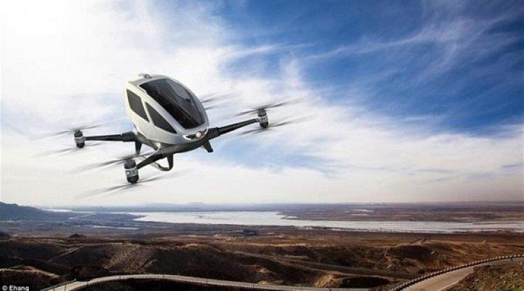 تبدأ دبي تشغيل طائرة اجرة للركاب ذاتية القيادة في وقت لاحق هذا العام