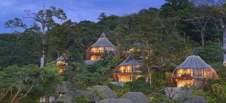 اقامة فخمة في اغرب بيوت الاشجار لرحلة ساحرة ومختلفة