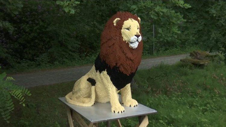 حديقة حيوانات من الليغو في بلجيكا