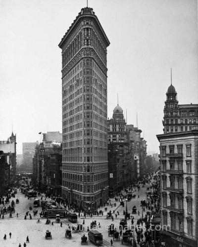 مبنى المكواة في مدينة نيويورك