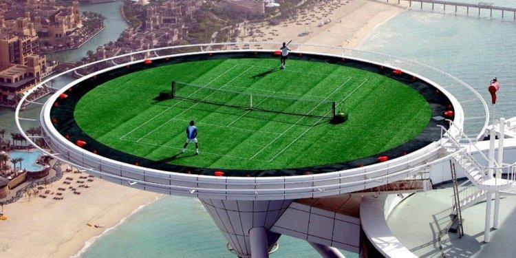 ملعب تنس رأس برج العرب