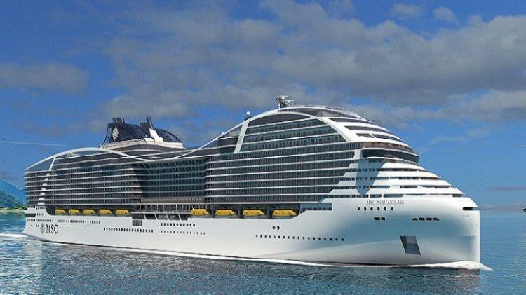 الكشف عن أكبر سفينة ركاب سياحية في العالم