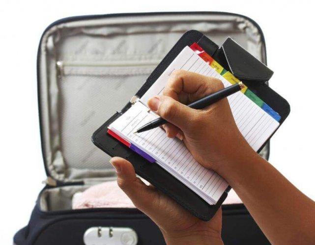 لا تضع عنوانك على حقيبة السفر